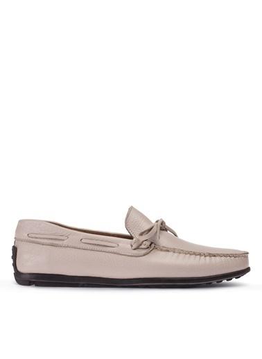 Deery Hakiki Deri Ayakkabı Bej